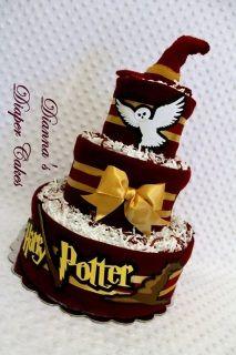 harry potter diaper cake - Google Search