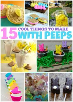 15 Cool Things to Make with Peeps - Love and Marriage