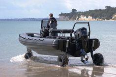 Sealegs amphibious vehicle
