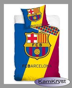 Nowy wzór pościeli FC Barcelona w rozmiarze 140x200 dostępny na stronach sklepu KamKryst.pl #fc_barcelona #young_bedding #barcelona_bedding