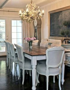 French Country Dining Room Decor Ideas (49)