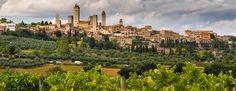 Nel cuore della Toscana, un mondo ancora a misura d'uomo... il Chianti - San Giminiano