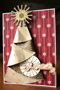 Paper Christmas Tree | Cosmo Cricket