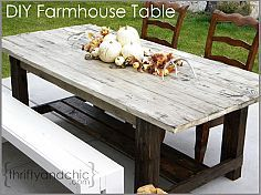Tons of DIY farmhouse tables :: YouAreTalkingTooMuch.com's clipboard on Hometalk :: Hometalk