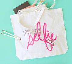 Love Your Selfie Tote Bag