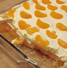 Delectable Edibles: Creamy Mandarin Orange Jello Salad