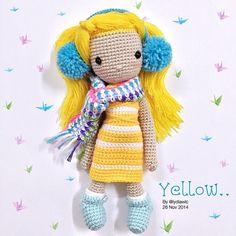 My Crochet Doll no.12 @ Yellow Angel