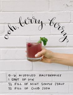 A delicious Raspberry Gin cocktail for the weekend... #gin #cocktail #raspberry