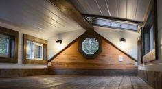 Elegante casa diminuta móvil de Rewild Homes: Visiten la casa