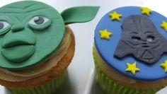 Cupcake Star Wars - Maitre Yoda et Dark Vador - Que la force soit avec vous - Minutefacile.com