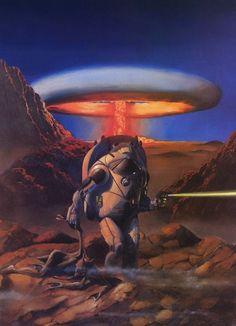 Fantasy - Surrealism - Other Art Post Apocalyptic Art, Heavy Metal Art, 70s Sci Fi Art, Graffiti, Classic Sci Fi, Retro Futuristic, Science Fiction Art, Sci Fi Fantasy, Drawing