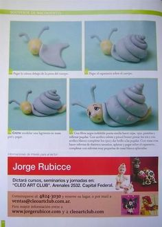 STEP BY STEP PART N°3 SNAIL