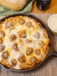 Looking for Fast & Easy Beef Recipes, Main Dish Recipes, Pasta Recipes! Recipechart has over free recipes for you to browse. Find more recipes like Baked Spaghetti & Meatballs. Pasta Recipes, Beef Recipes, Italian Recipes, Cooking Recipes, Iron Skillet Recipes, Cast Iron Recipes, Cast Iron Skillet, Pasta Dishes, Food Dishes