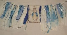 Peter Rabbit Bunting I made for a photoshoot
