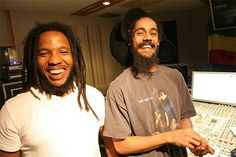 Stephen and Damien Marley