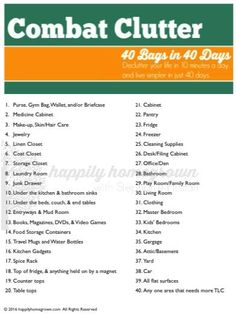 40 Bags in 40 Days -