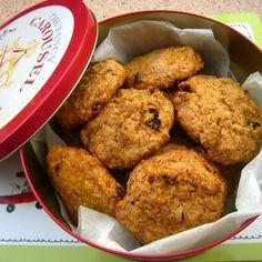 Vegan carrot cookies