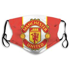 Manchester United, Activated Carbon Filter, Protective Mask, Outdoor Wear, Filters, Sunglasses Case, The Unit, Unisex, Personalized Items