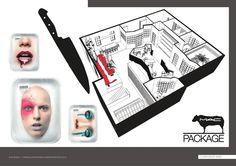 PORTFOLIO - Michelapenso #MAC #Headquarters #Concept #Interior #Design