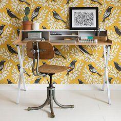 Buy MissPrint Songbird Wallpaper Online at johnlewis.com