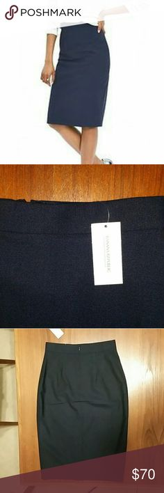 """Banana Rep. Lightweight Wool Pincel Skirt Navy 0 NWT -  PRODUCT DETAILS ? Lightweight wool makes this classic skirt one you'll wear from season to  season. With a bit of stretch for comfort and ease. ? Banded waist. Invisible back zip. ? 8"""" Vented back hem. Fully lined... FABRIC & CARE ? 95% Wool, 5% Spandex. ? Dry clean. ? Imported.  FIT & SIZING ? High-waist fit. Sits at the natural waist. ? Hits above the knee. ? Skirt length: 26"""" Banana Republic Skirts Pencil"""