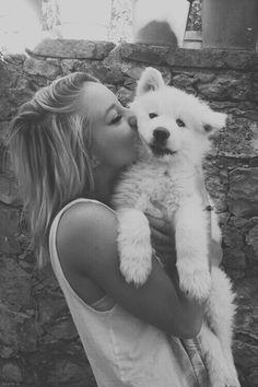 Awwww. Cute dog