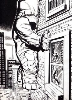 Monster At My Window by Jack Kirby