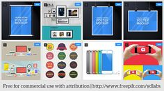 Free Product Mockups ( Free PSD Files) by YDLABS