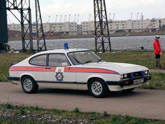 Ford Capri 2.8i Police car UK 1983