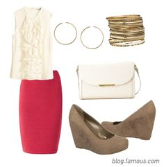 How to Style Wedges: Look 3