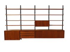 Royal System by Poul Cadovius Designed in the 1950s. This Modular shelving unit can be made in any position you want.