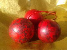 Boule Noël décoration rouge ☻☺☻