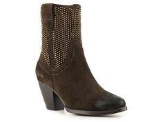 VanEli Jakeem Studded Western Bootie Boots