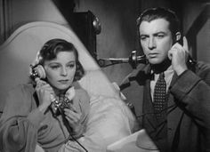 0 Robert Taylor and Margaret Sullavan on the phone in Three Comrades (1938)