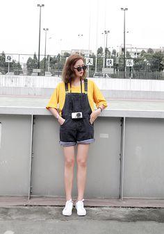 •_• Korean Girl Fashion, Korean Fashion Summer, Korean Street Fashion, Ulzzang Fashion, Korea Fashion, Harajuku Fashion, Kpop Fashion, Kawaii Fashion, Asian Fashion