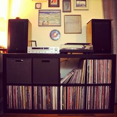 Organization for #vinyl collection