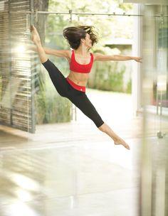 Amazing Melania Fernández. #dance #ballet #move #sportswear #activewear