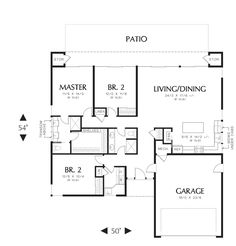 10 Best Small House Plans With Attached Garages Images