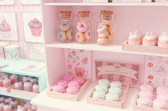 "rainingteadrops: "" Macarons and donuts (by Carolina Tyran) on flickr """