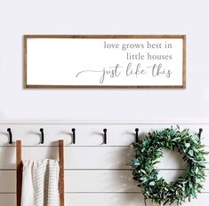Fully Customizable Cottage Chic Driftwood Mantel Decor Hand Carved Rustic Wood Gift for a Family Personalized Family Gift Idea