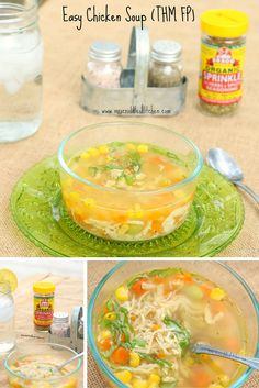 Easy Chicken Soup- T