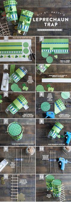 St. Patrick's Day Leprechaun Trap Tutorial
