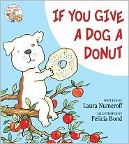 Laura Numeroff's latest book, If You Give a Dog a Donut, available on August 21, 2011