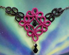 Huckleberry Midnight Necklace by MountainLace