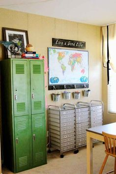 Lockers put you in the school mood and give kiddos a place to store call their own.