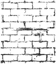Prima - Clear Acrylic Stamps - Brick 3 at Scrapbook.com $1.89