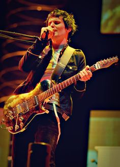 Matthew Bellamy (lead singer of Muse) - his musical ability is out of this world!