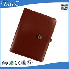 Check out this product on Alibaba.com APP PU Leather hardcover with customized/spiral bound notebook with wallet/with card holder