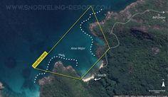Snorkeling Anse Major, Mahé, Seychelles