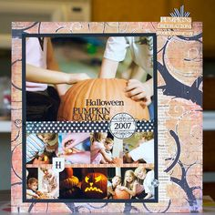 It would be awesome to have holiday scrapbooks to add pictures from each year. That way you can see how the holidays have changed as the family grows through the years